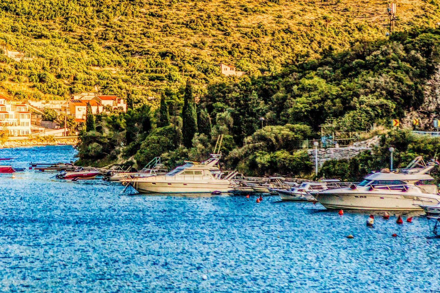 克羅地亞旅途,遠處的海灣_圖1-29