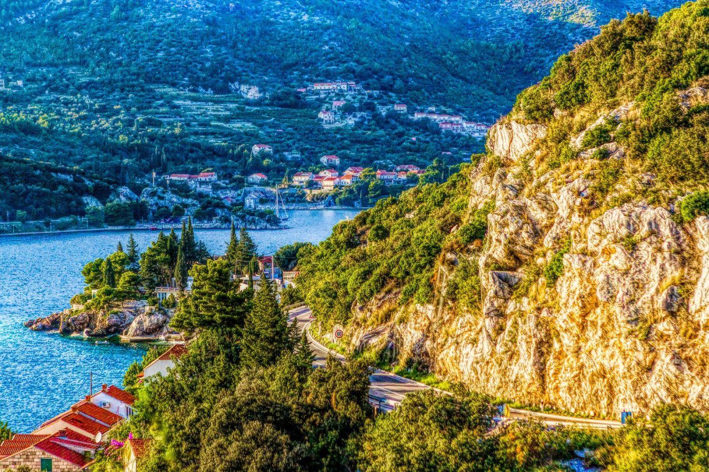 克羅地亞旅途,遠處的海灣_圖1-30