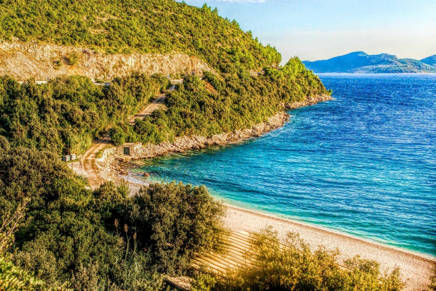 克羅地亞旅途,遠處的海灣_圖1-31