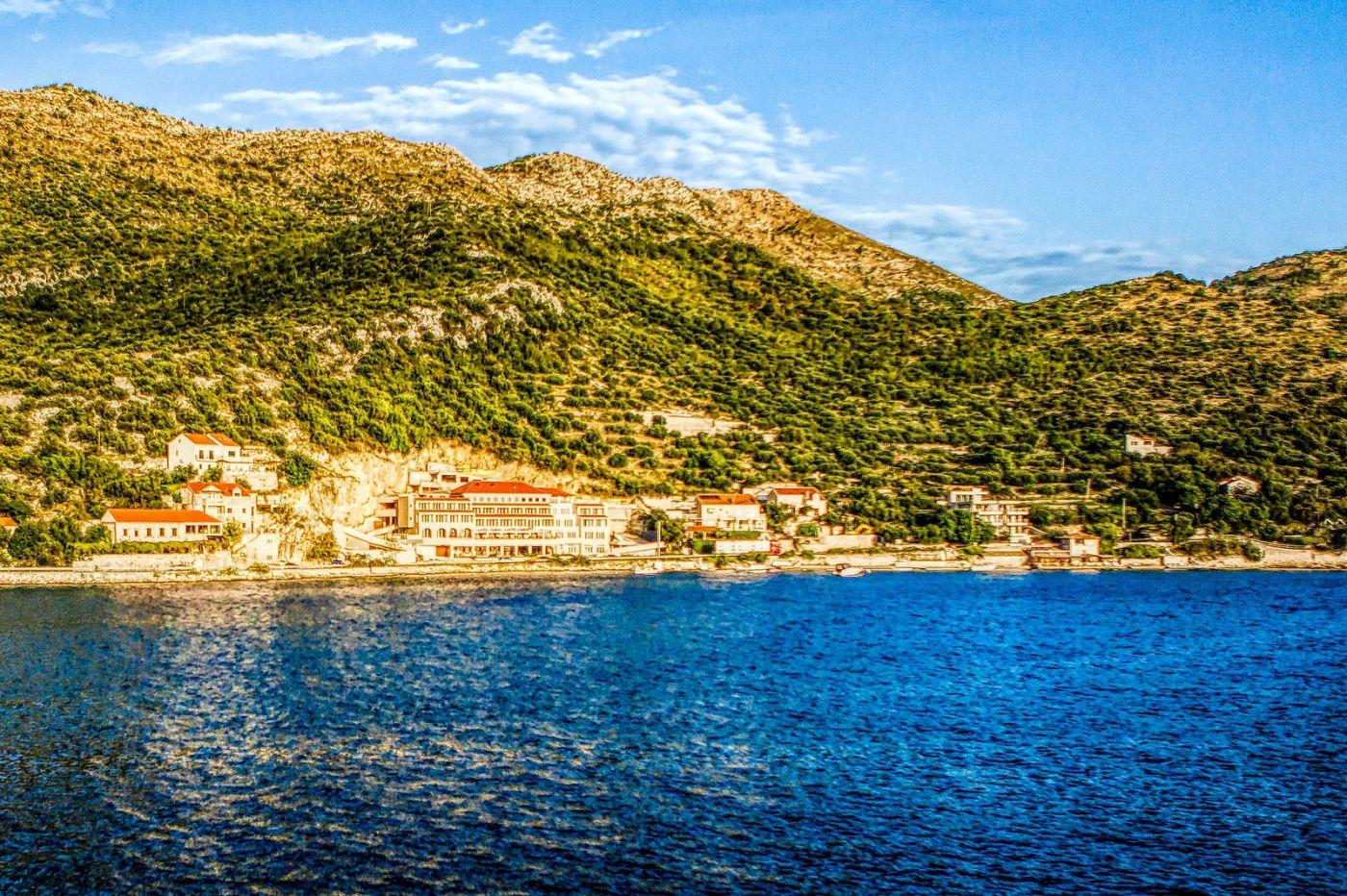 克羅地亞旅途,遠處的海灣_圖1-27