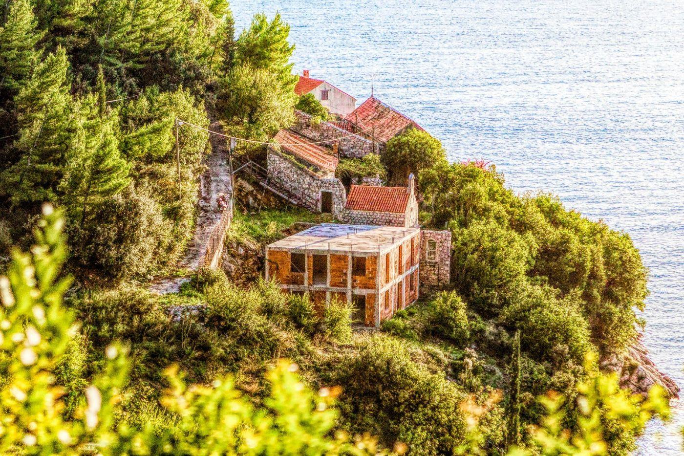 克羅地亞旅途,遠處的海灣_圖1-25