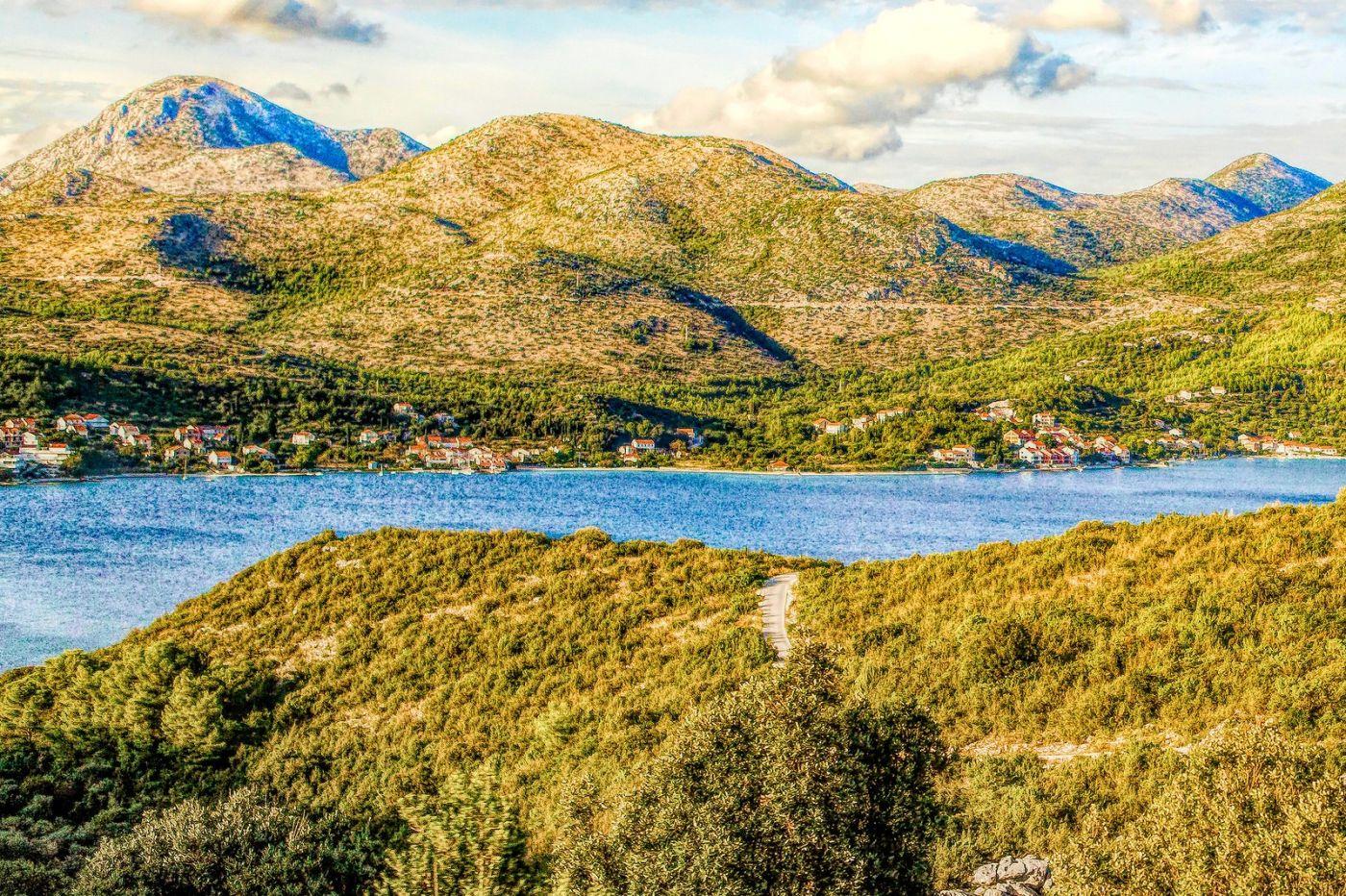 克羅地亞旅途,遠處的海灣_圖1-26