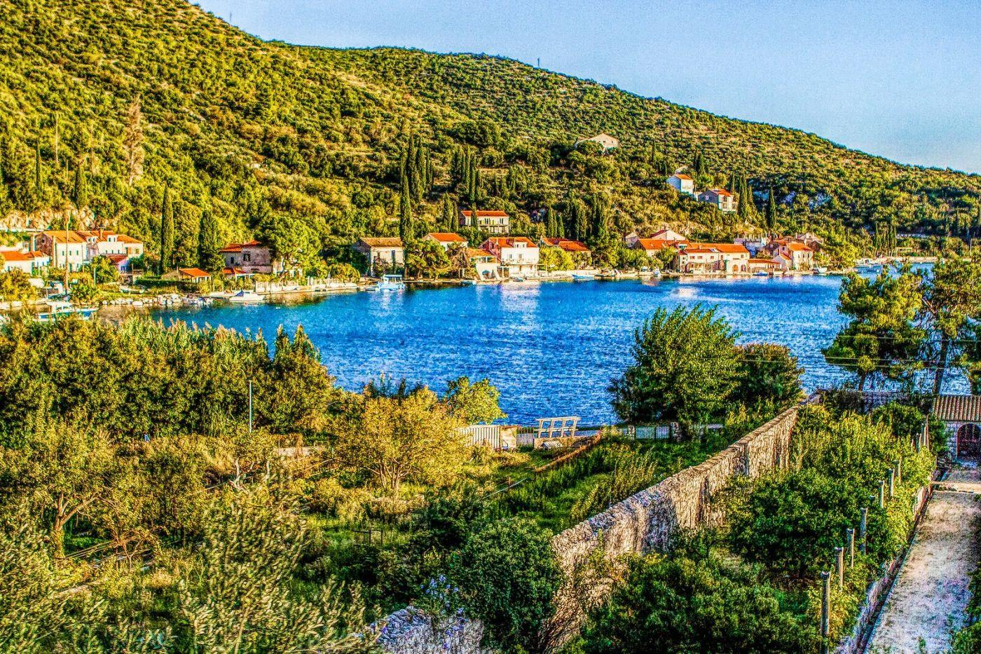 克羅地亞旅途,遠處的海灣_圖1-24