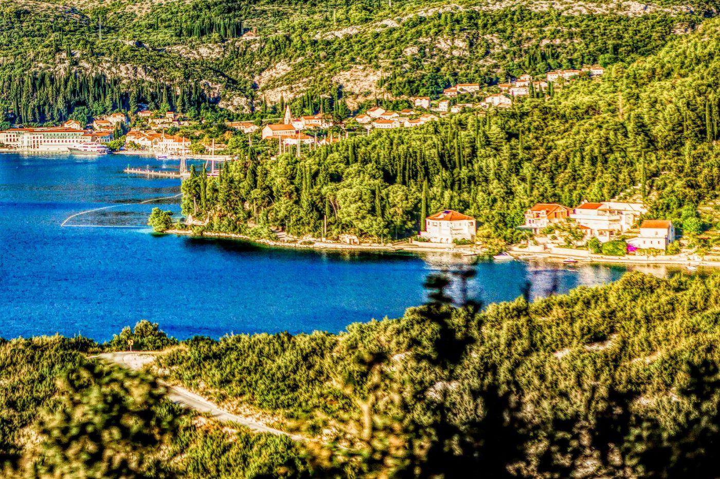 克羅地亞旅途,遠處的海灣_圖1-17