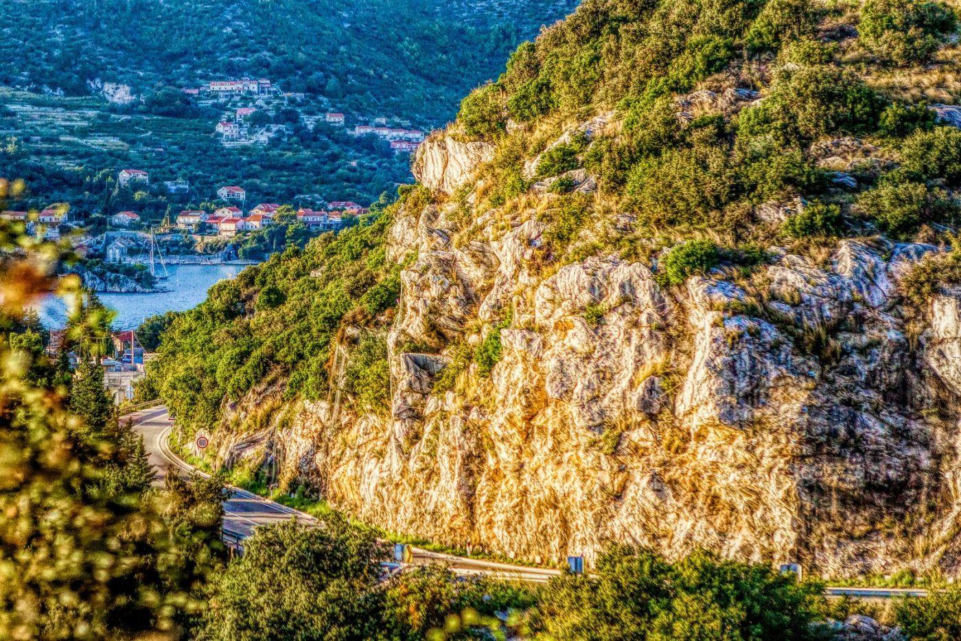 克羅地亞旅途,遠處的海灣_圖1-18
