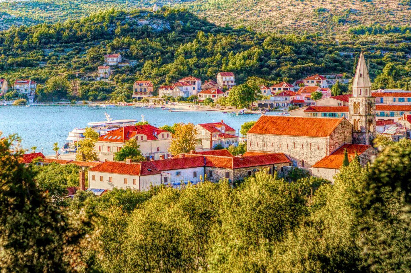 克羅地亞旅途,遠處的海灣_圖1-1