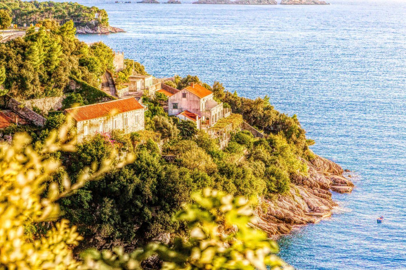 克羅地亞旅途,遠處的海灣_圖1-3
