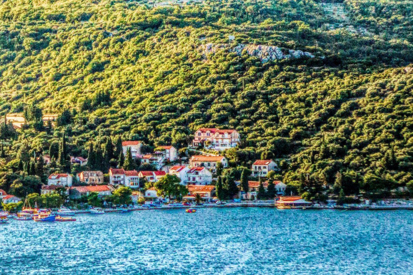 克羅地亞旅途,遠處的海灣_圖1-6