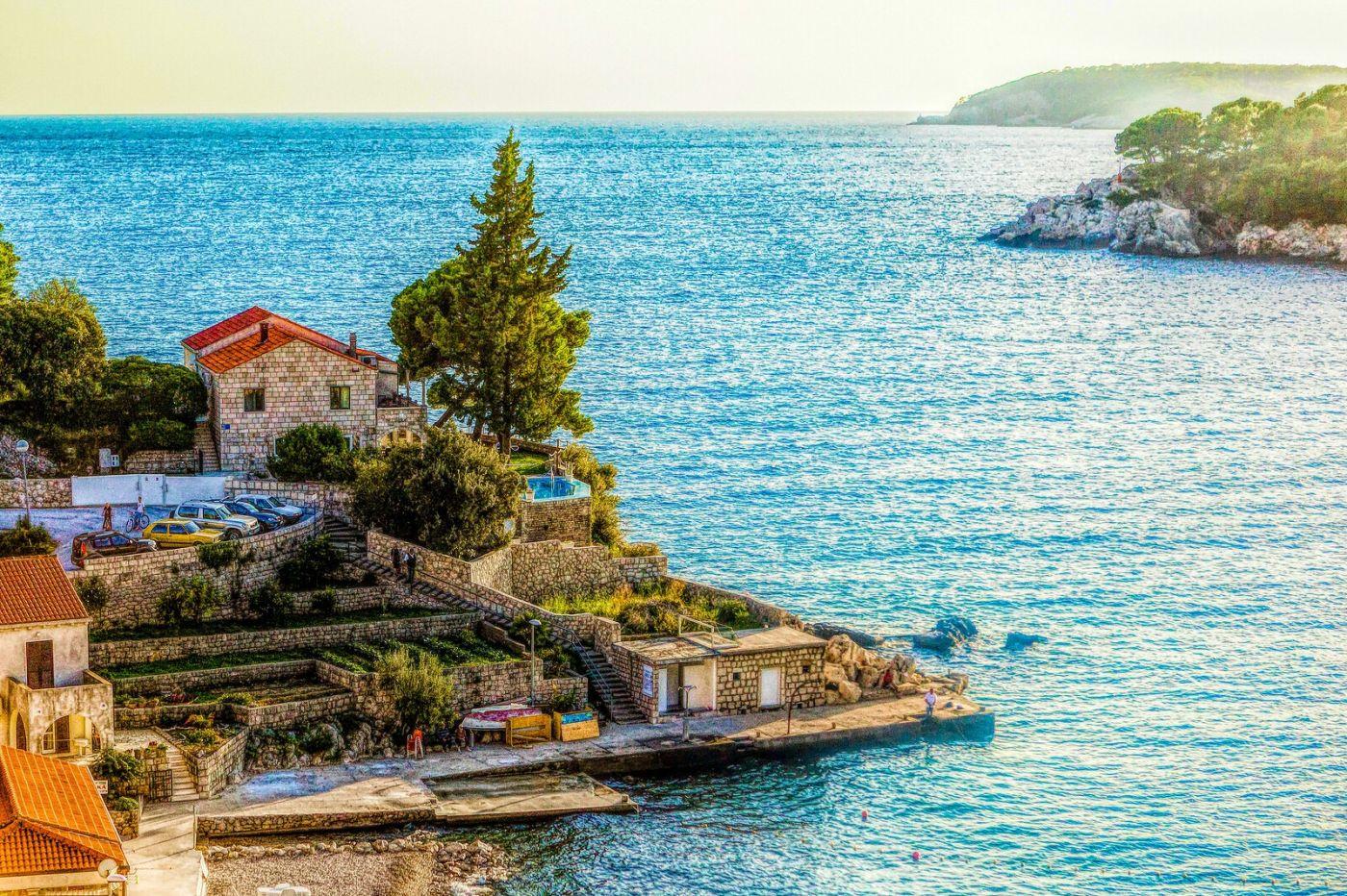 克羅地亞旅途,遠處的海灣_圖1-5