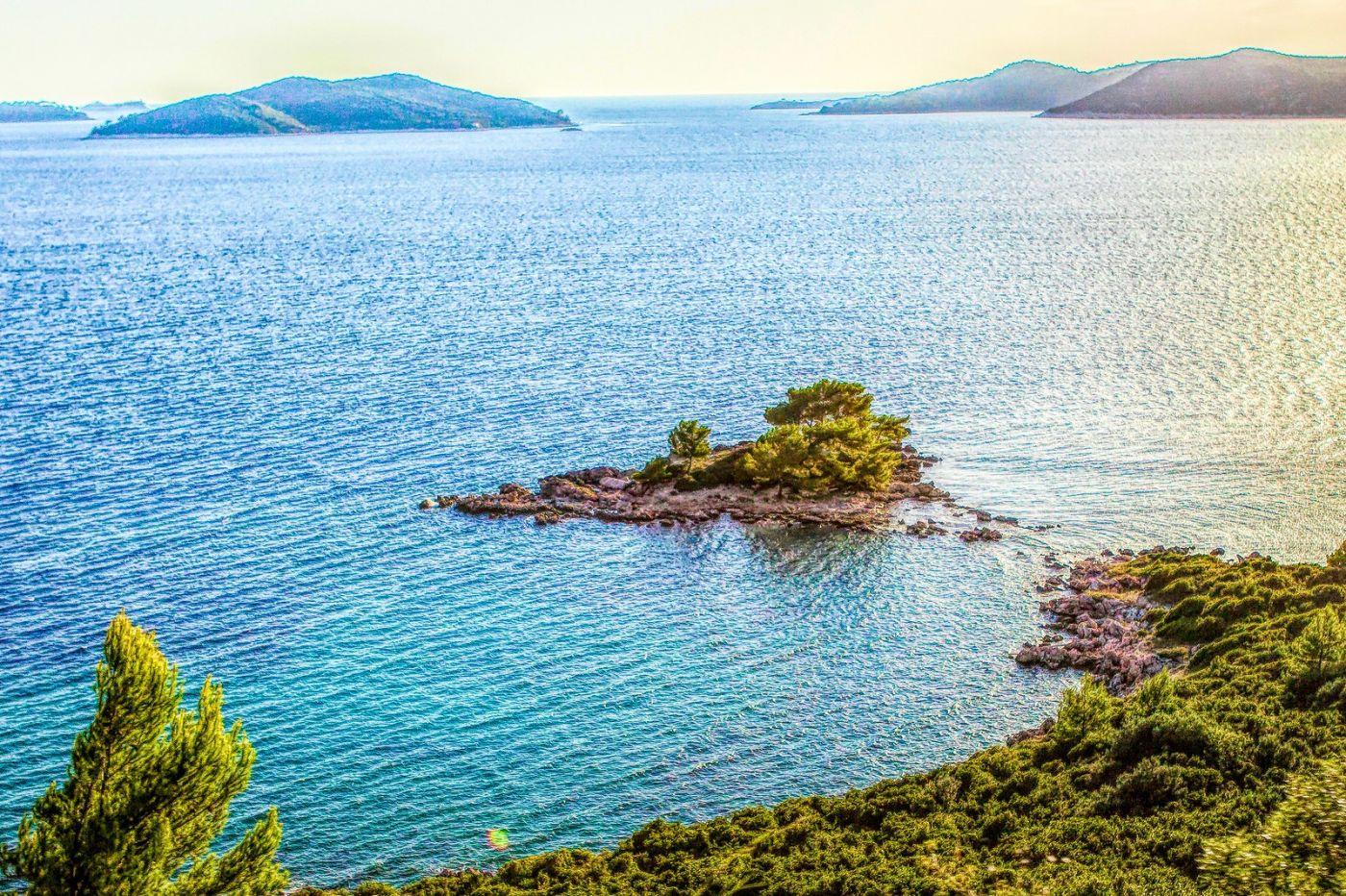 克羅地亞旅途,遠處的海灣_圖1-12