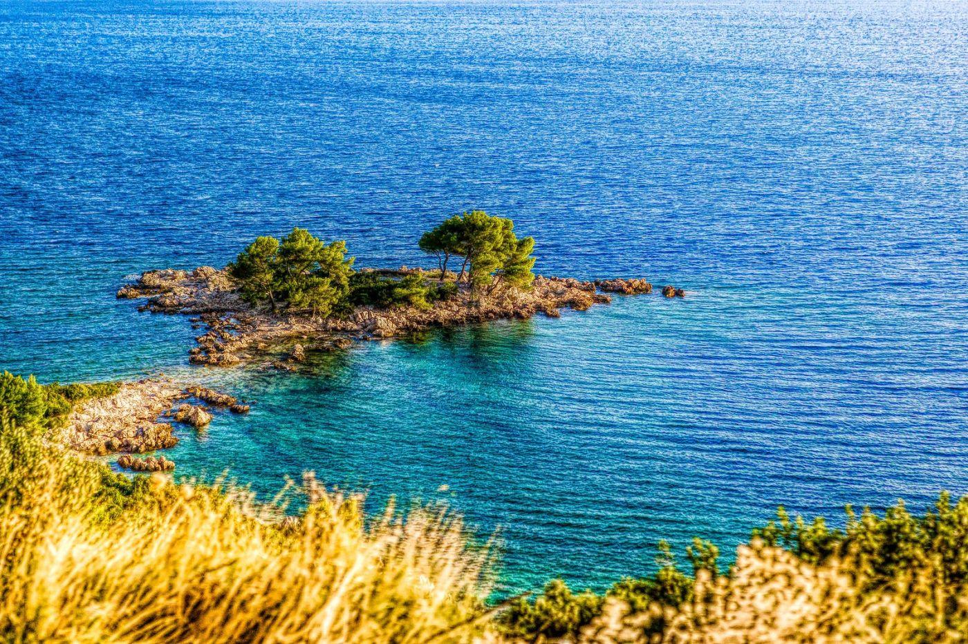 克羅地亞旅途,遠處的海灣_圖1-7