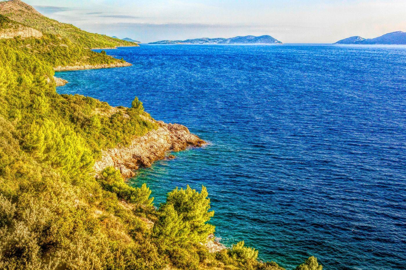 克羅地亞旅途,遠處的海灣_圖1-8