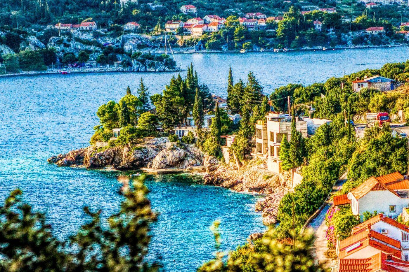 克羅地亞旅途,遠處的海灣_圖1-9