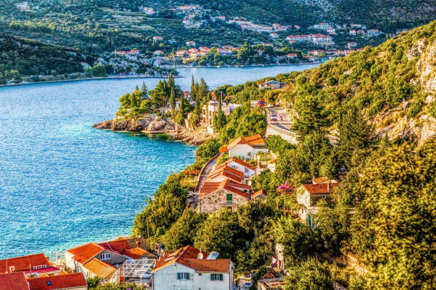 克羅地亞旅途,遠處的海灣_圖1-11