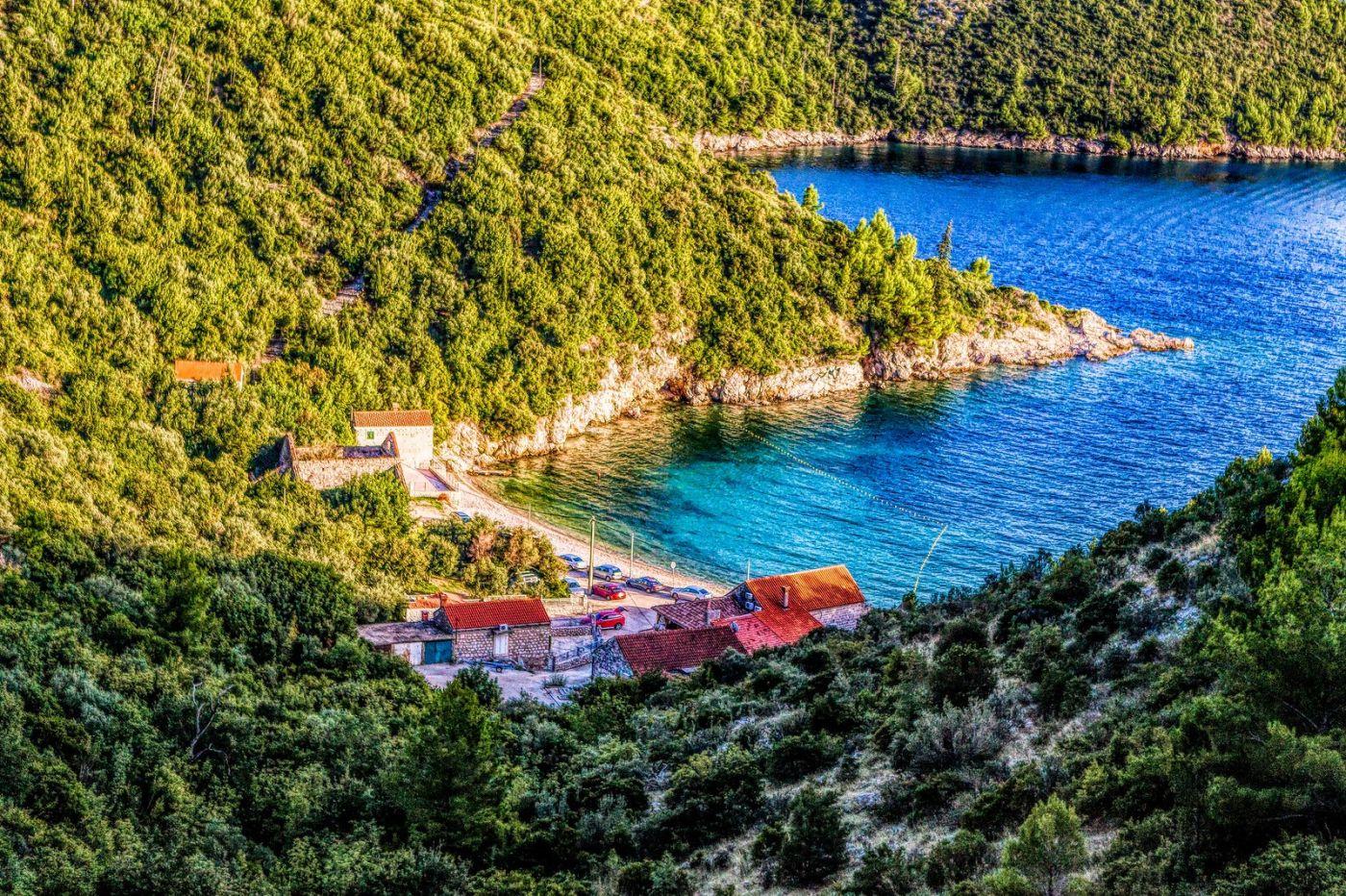 克羅地亞旅途,遠處的海灣_圖1-10