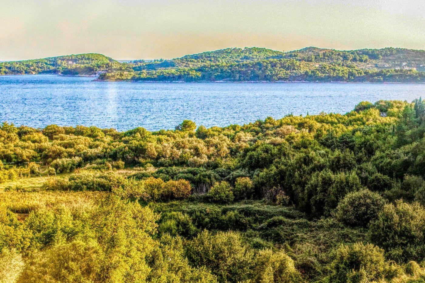 克羅地亞旅途,遠處的海灣_圖1-15