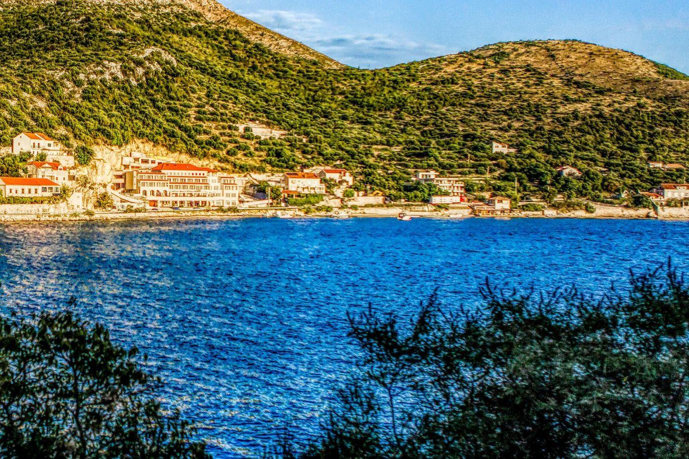 克羅地亞旅途,遠處的海灣_圖1-14