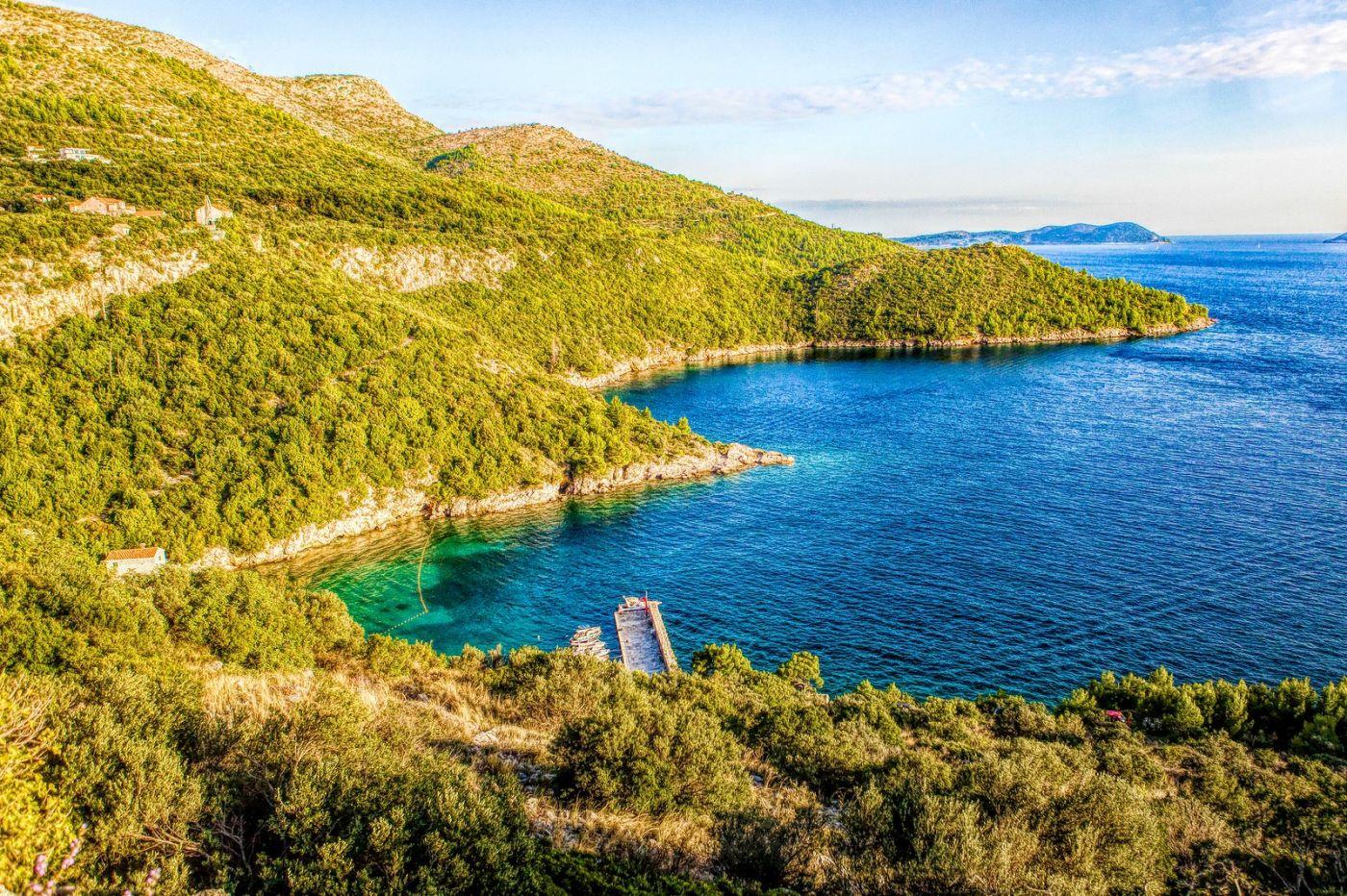 克羅地亞旅途,遠處的海灣_圖1-16