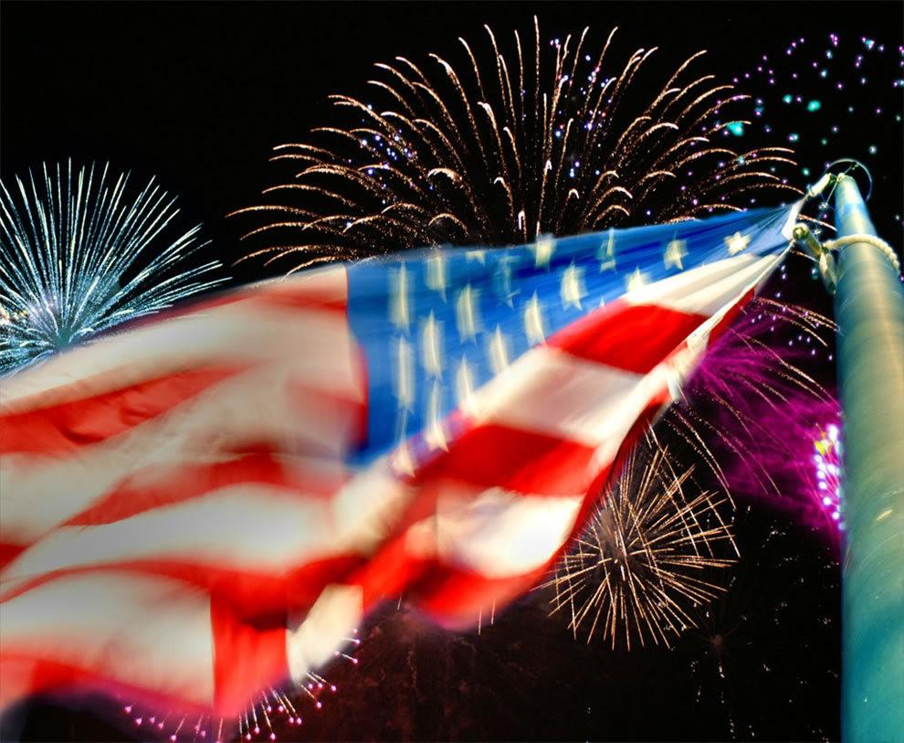 美国独立纪念日----烟花会演_图1-9