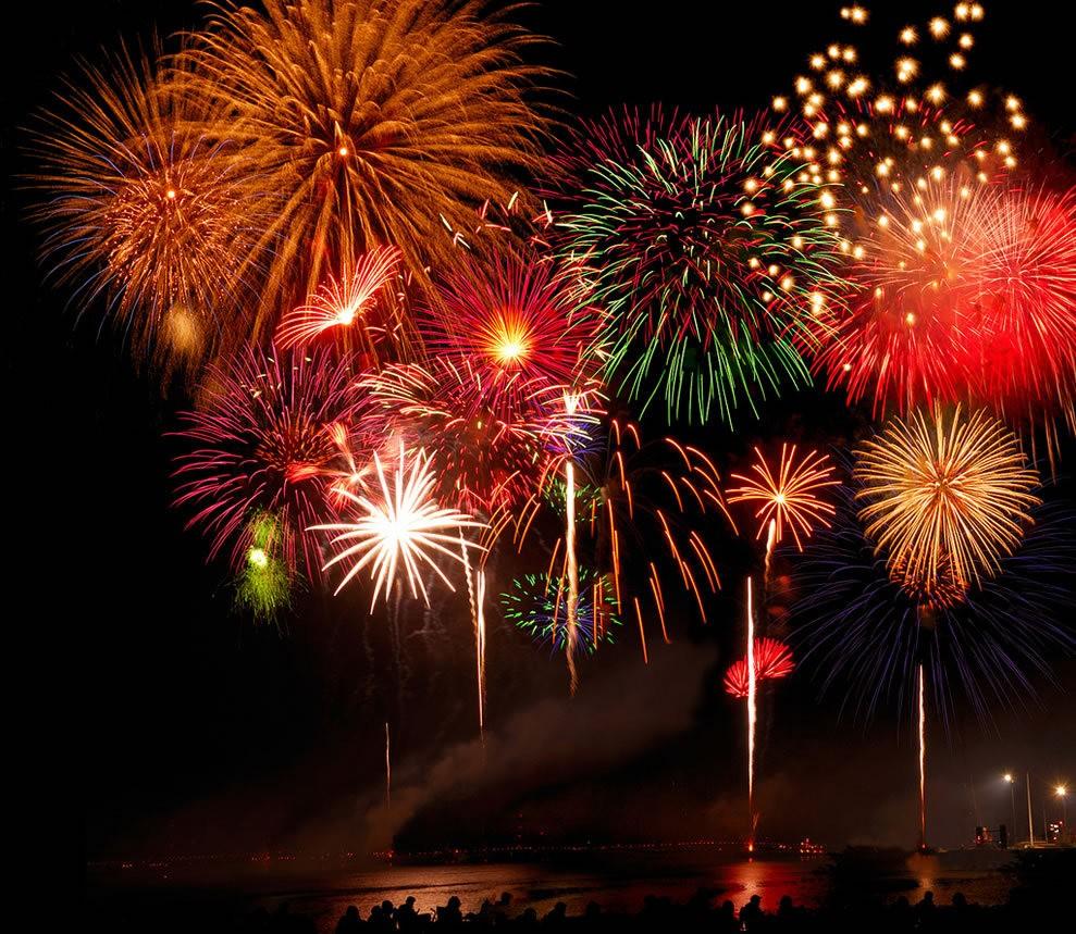美国独立纪念日----烟花会演_图1-13