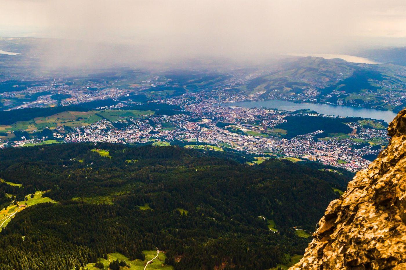 瑞士卢塞恩(Lucerne),山顶眺望_图1-39