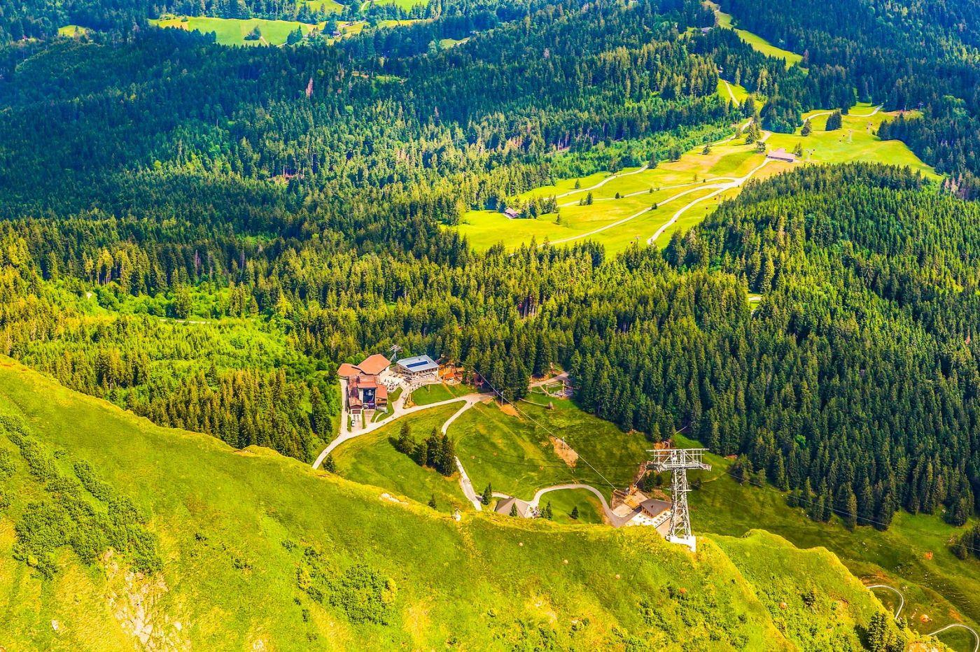 瑞士卢塞恩(Lucerne),山顶眺望_图1-40