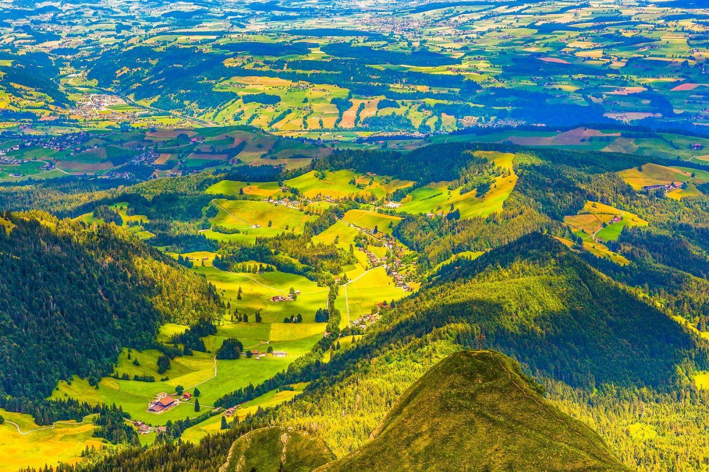 瑞士卢塞恩(Lucerne),山顶眺望_图1-38