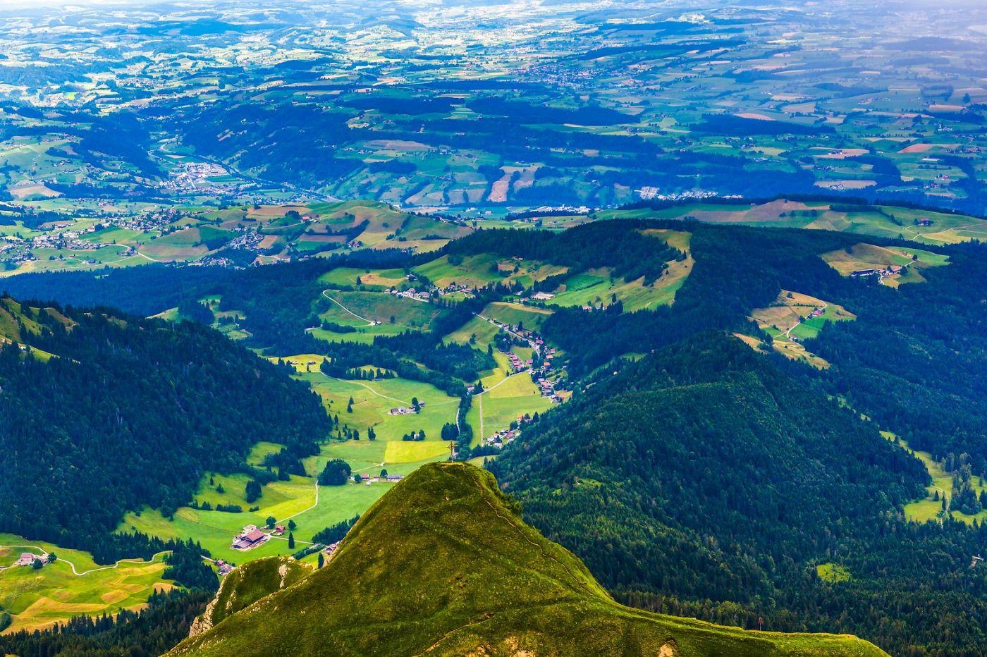 瑞士卢塞恩(Lucerne),山顶眺望_图1-33