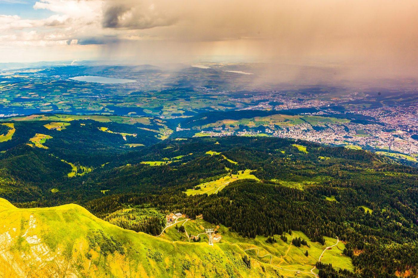 瑞士卢塞恩(Lucerne),山顶眺望_图1-37