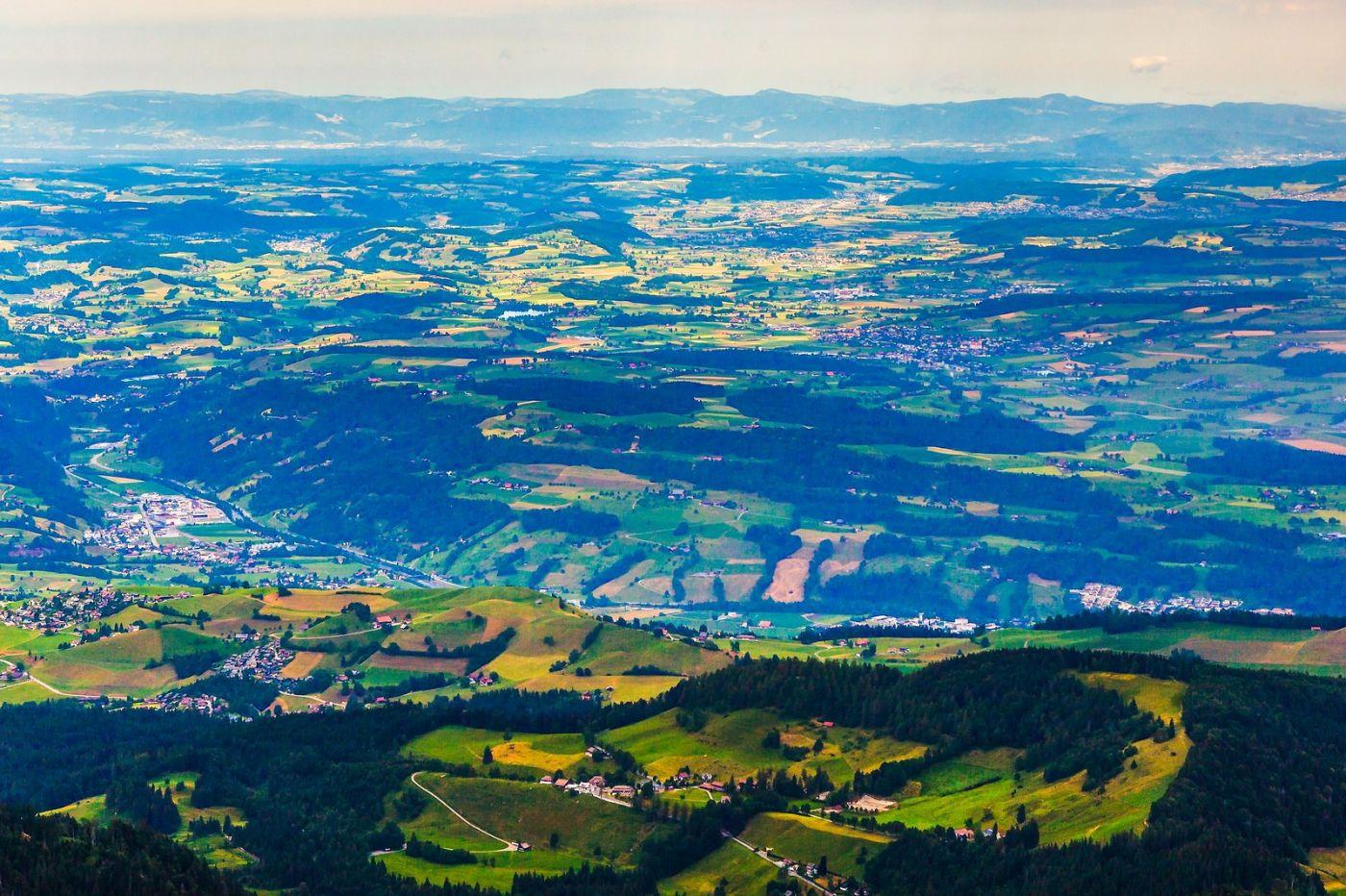 瑞士卢塞恩(Lucerne),山顶眺望_图1-34