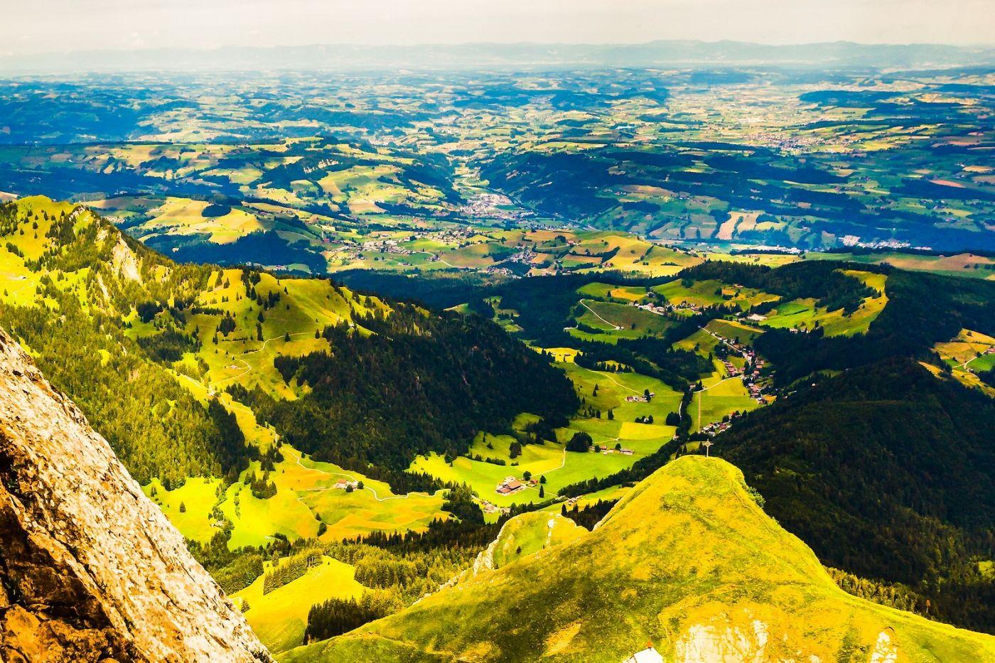 瑞士卢塞恩(Lucerne),山顶眺望_图1-36