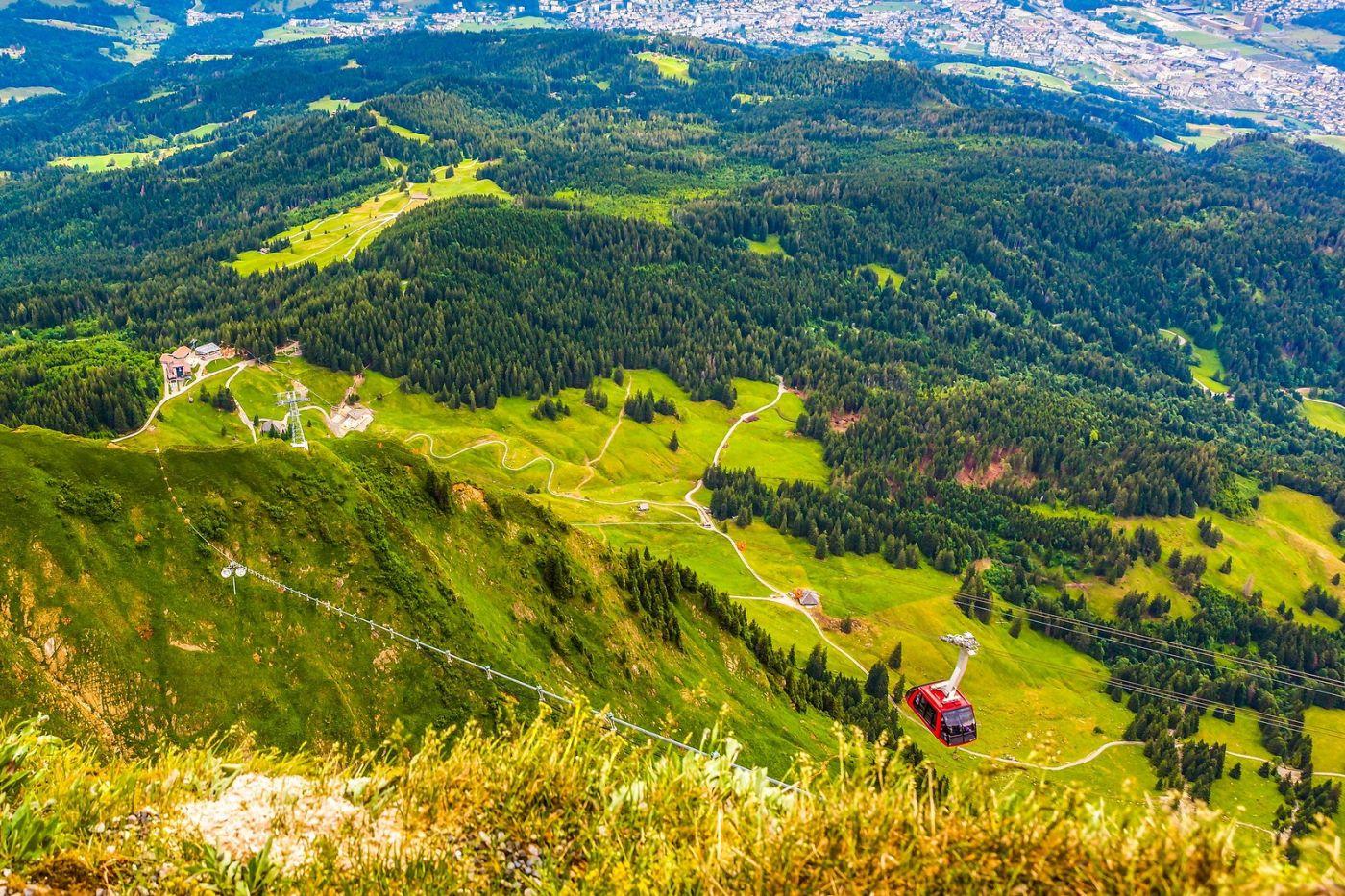 瑞士卢塞恩(Lucerne),山顶眺望_图1-32
