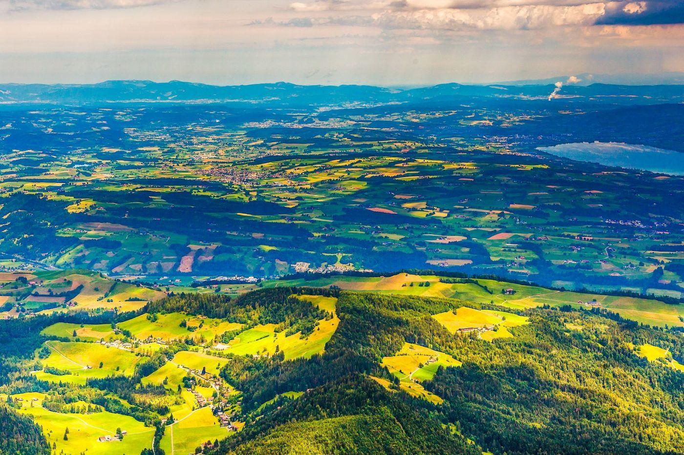 瑞士卢塞恩(Lucerne),山顶眺望_图1-30