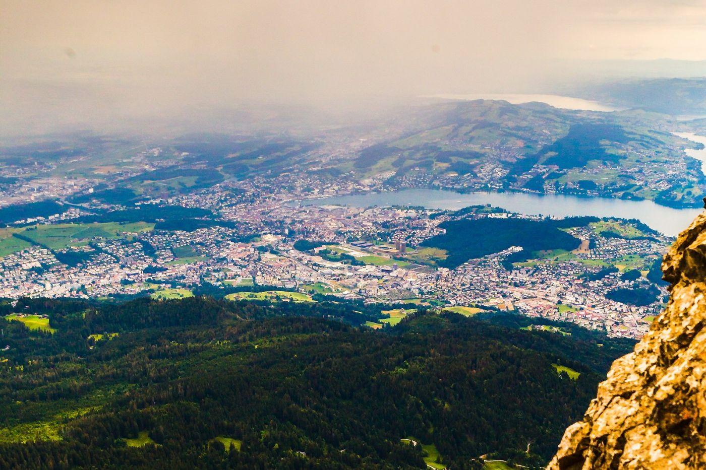 瑞士卢塞恩(Lucerne),山顶眺望_图1-25