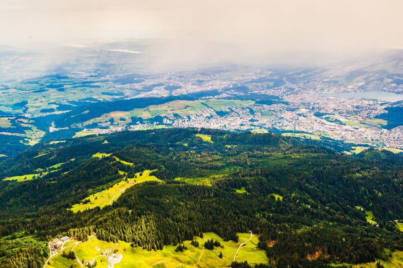 瑞士卢塞恩(Lucerne),山顶眺望_图1-27