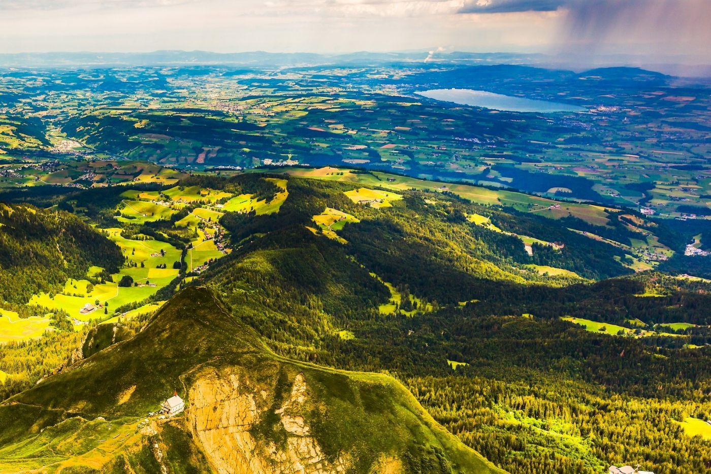 瑞士卢塞恩(Lucerne),山顶眺望_图1-28