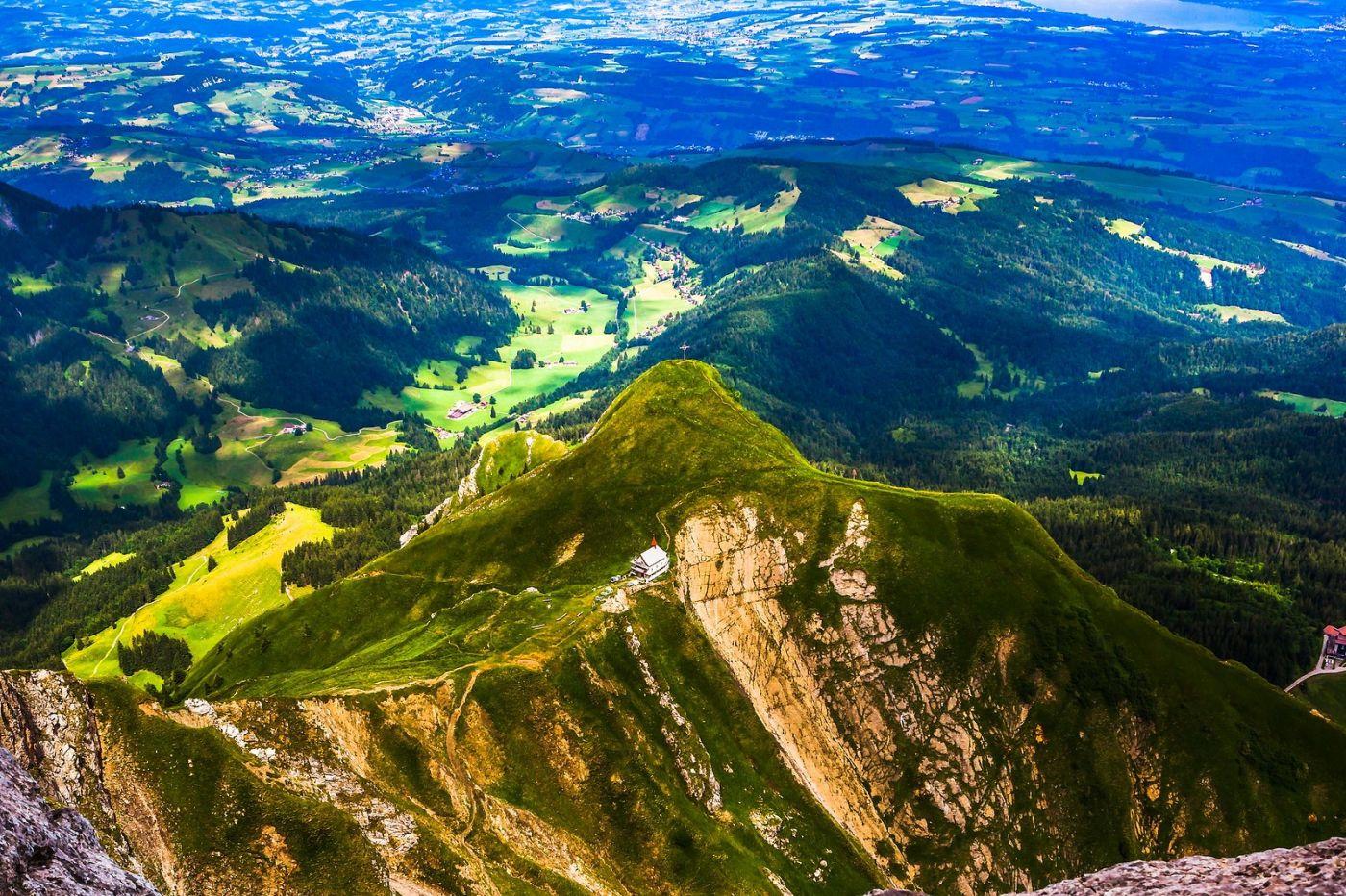瑞士卢塞恩(Lucerne),山顶眺望_图1-1