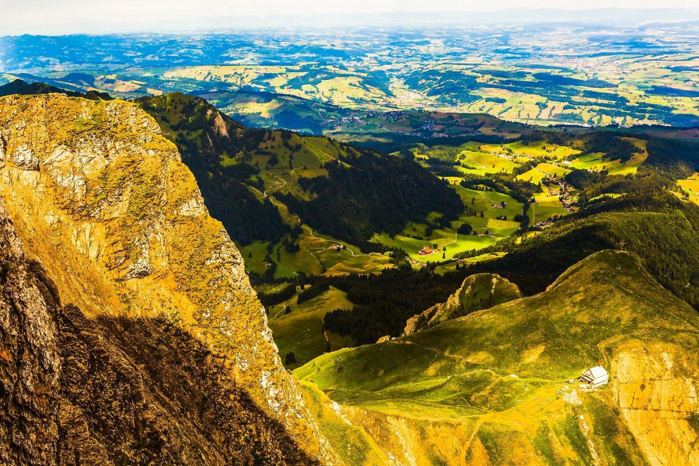 瑞士卢塞恩(Lucerne),山顶眺望_图1-3
