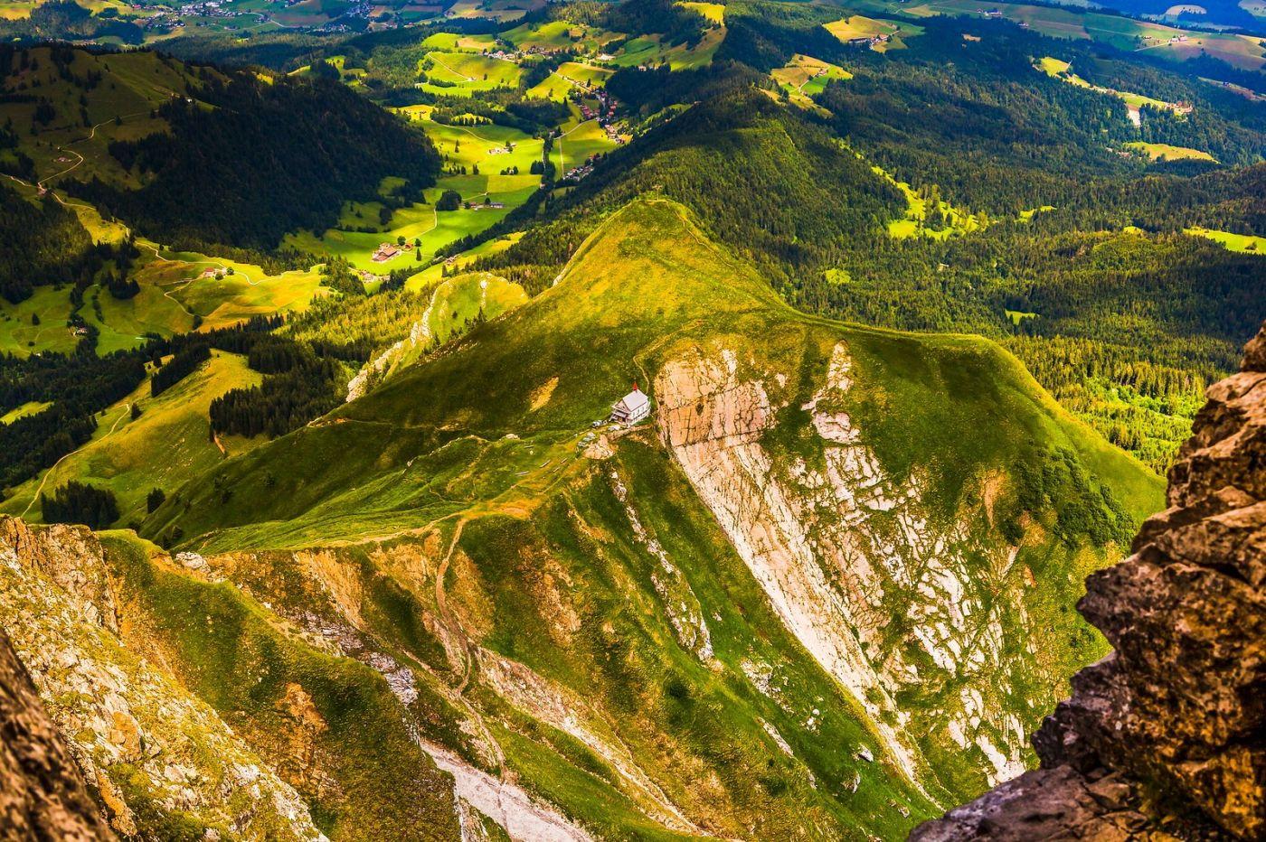 瑞士卢塞恩(Lucerne),山顶眺望_图1-4