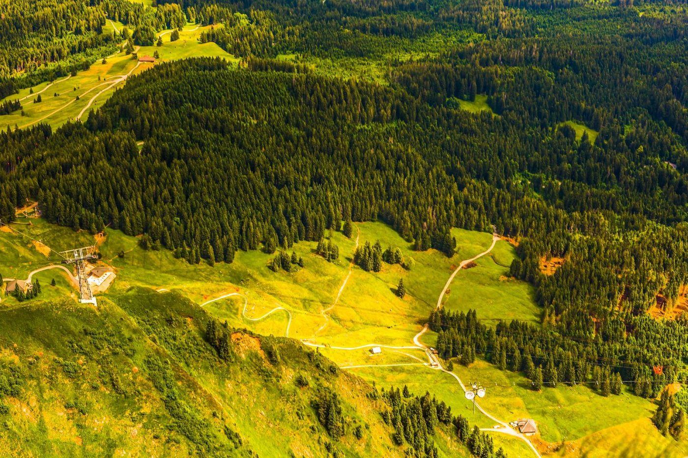 瑞士卢塞恩(Lucerne),山顶眺望_图1-5