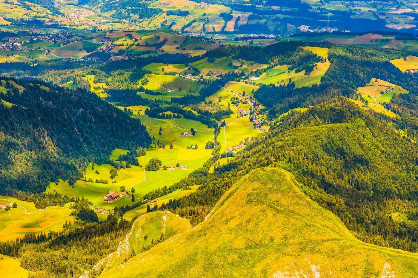 瑞士卢塞恩(Lucerne),山顶眺望_图1-6