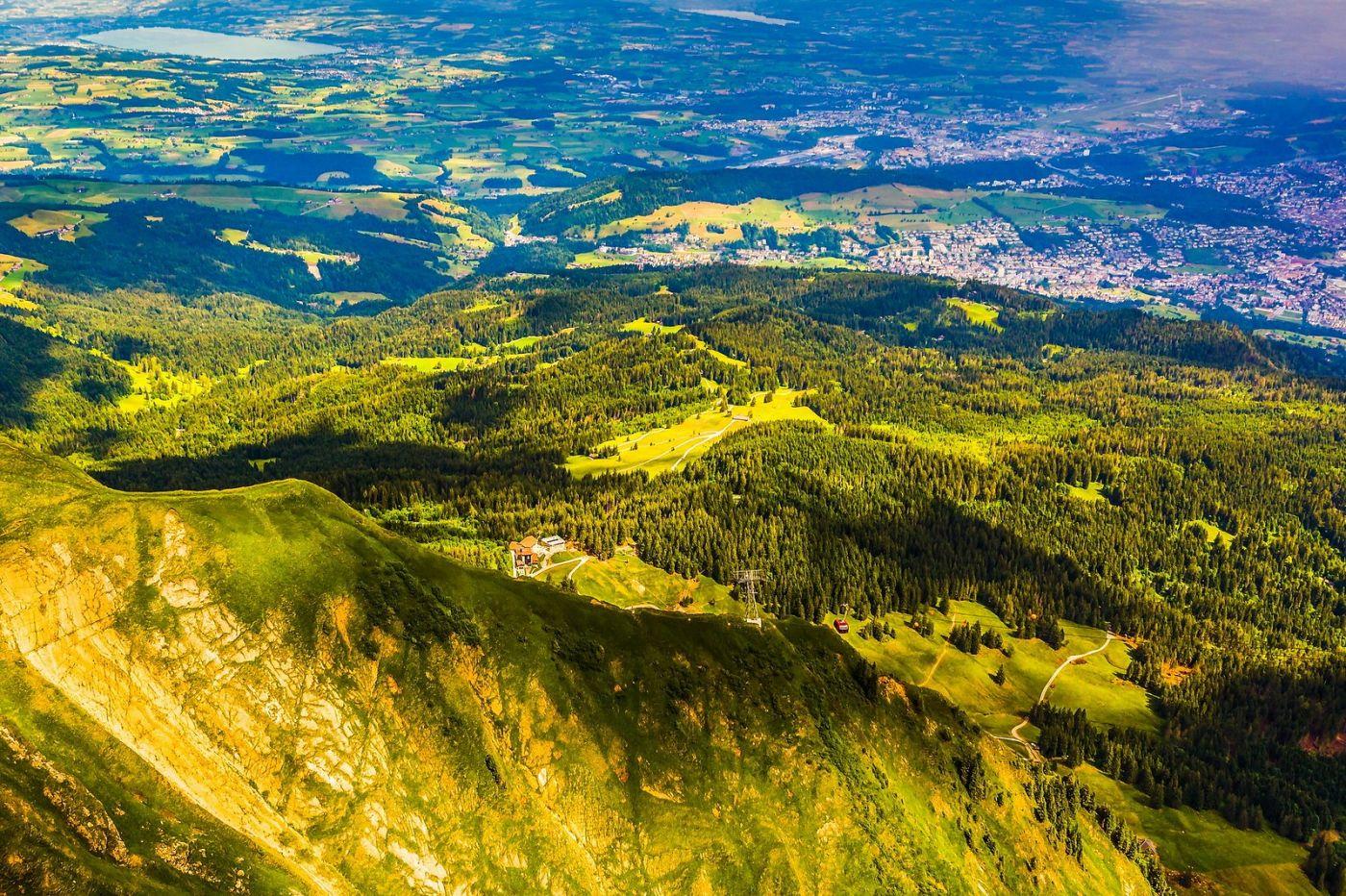 瑞士卢塞恩(Lucerne),山顶眺望_图1-7