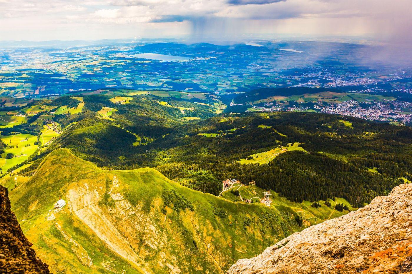 瑞士卢塞恩(Lucerne),山顶眺望_图1-9