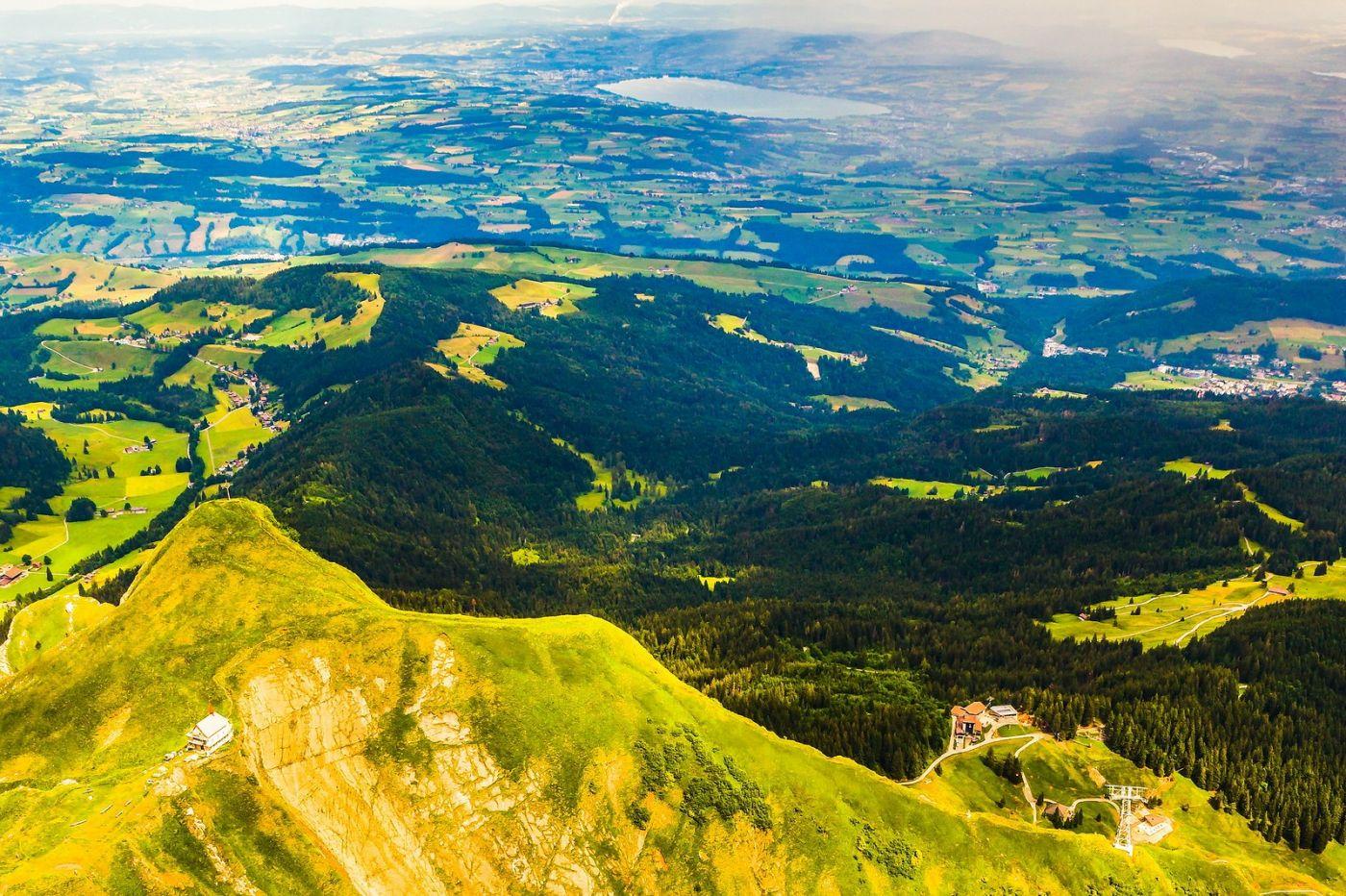 瑞士卢塞恩(Lucerne),山顶眺望_图1-10