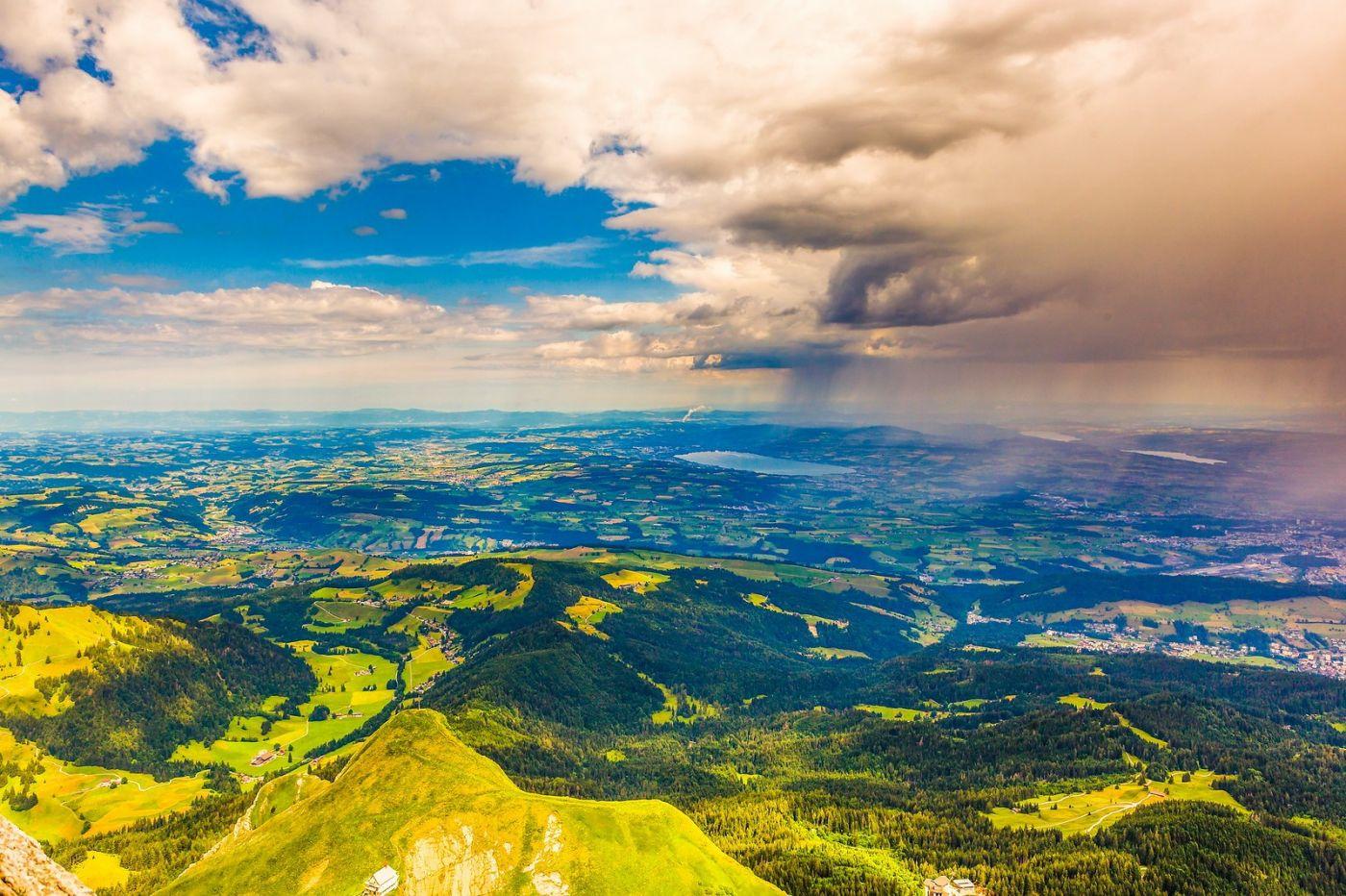 瑞士卢塞恩(Lucerne),山顶眺望_图1-11