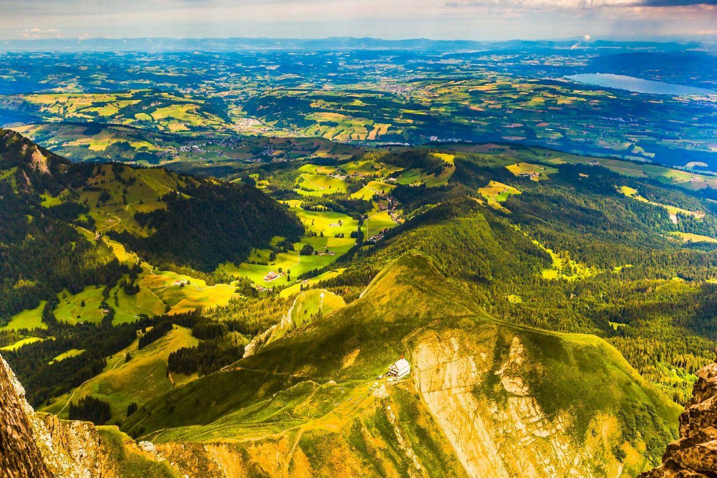 瑞士卢塞恩(Lucerne),山顶眺望_图1-12