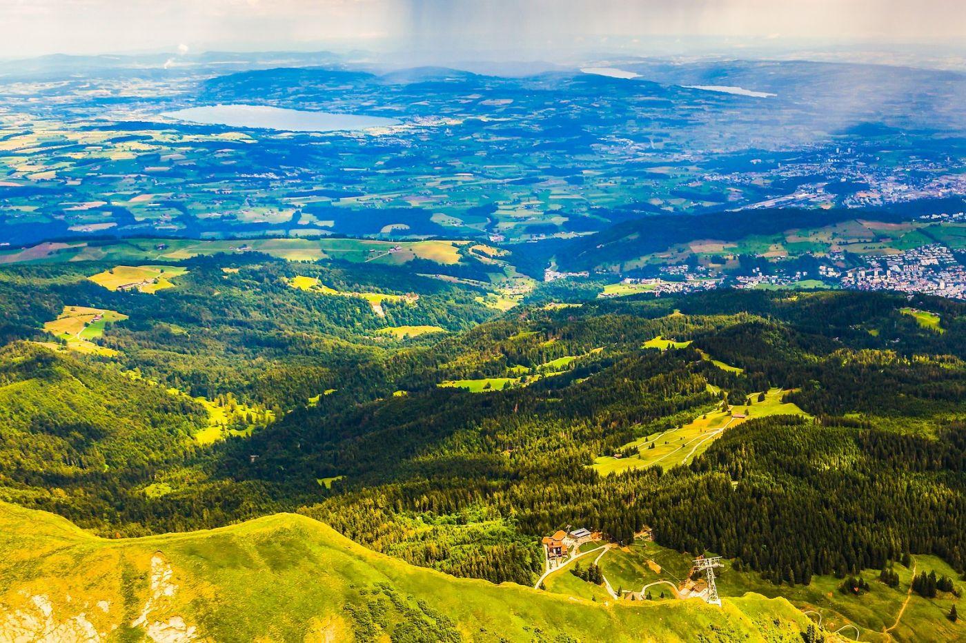 瑞士卢塞恩(Lucerne),山顶眺望_图1-13