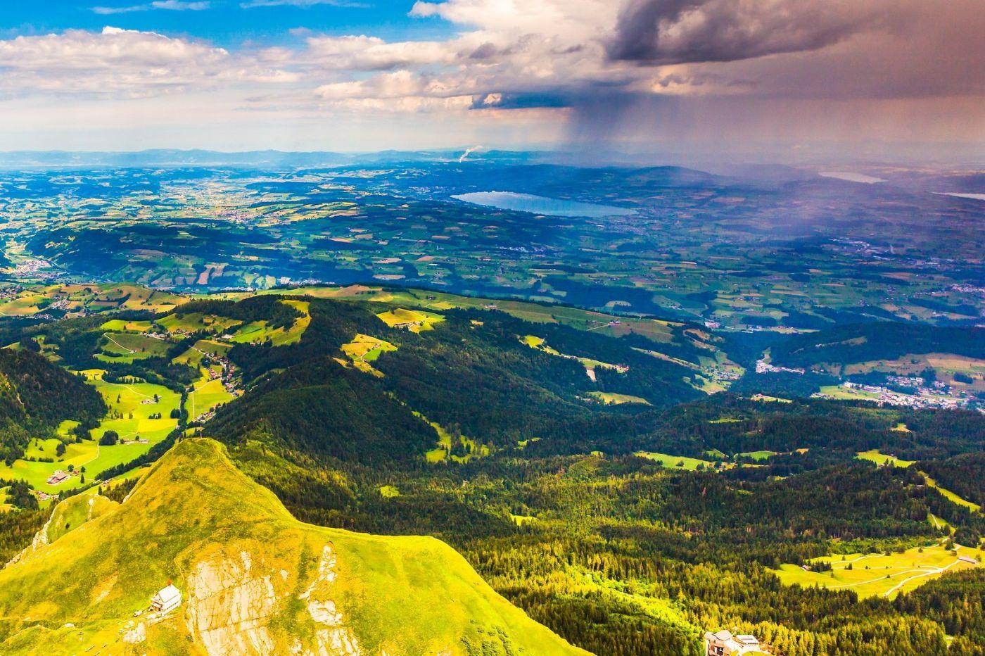 瑞士卢塞恩(Lucerne),山顶眺望_图1-14