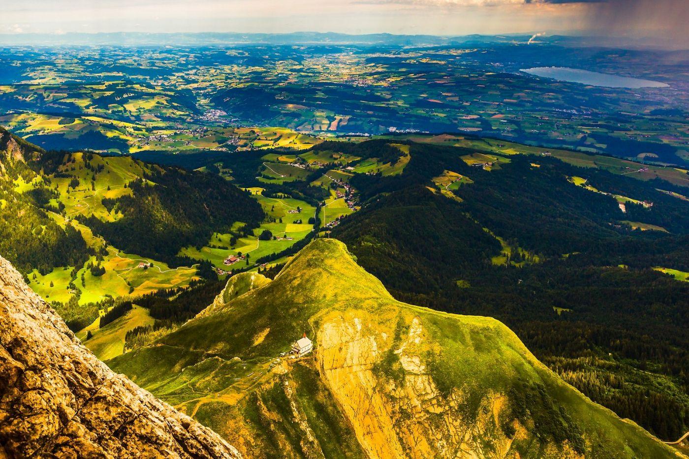 瑞士卢塞恩(Lucerne),山顶眺望_图1-15