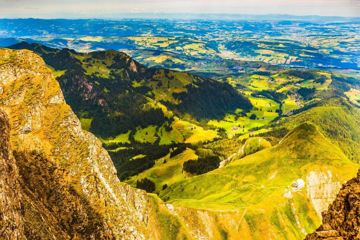 瑞士卢塞恩(Lucerne),山顶眺望_图1-16